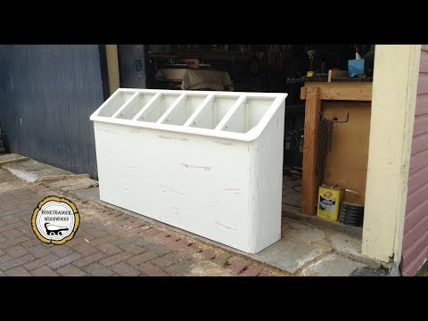 Woodworking : Space Saving Laundry Room Storage //How-To Part 2