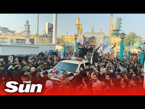 Xxx Mp4 Killed Iranian General Thousands Of Angry Mourners Chant 39 Death To America 39 At Funeral Procession 3gp Sex