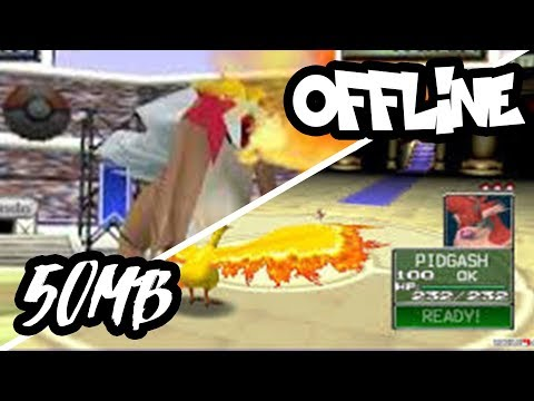 BEST POKEMON 3D OFFLINE GAME FOR ANDROID IN 50MB ONLY!!
