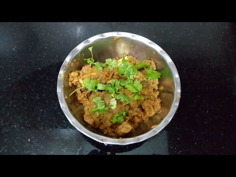 Mutton Fry - South Indian Style