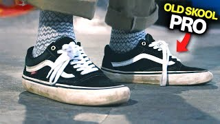 8783bb4259a6dc VANS OLD SKOOL PRO - SKATE REVIEW