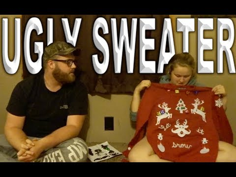 ugly sweater challenge l 12 days of vlogmas day 2