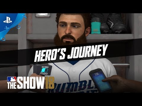 MLB The Show 18 - For a Fan Like You: Hero's Journey   PS4