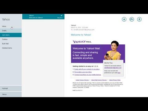 Mail App  - Windows 8 Tutorial - Lesson 16