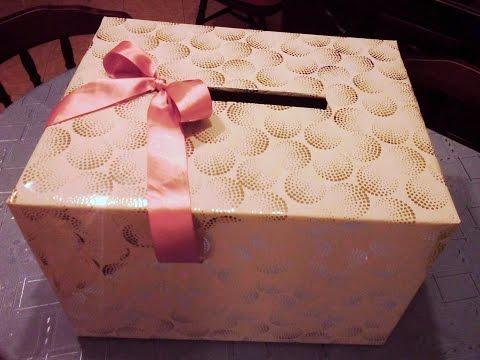 DIY How can I make a Wedding gift card box