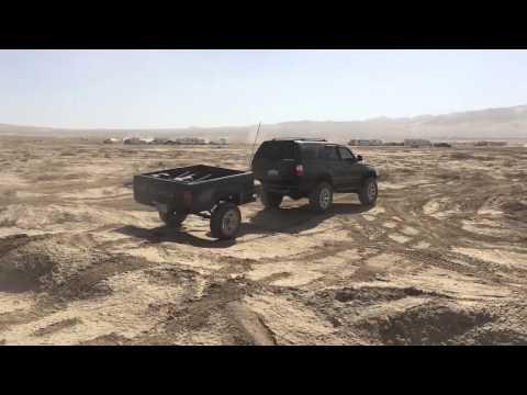 Toyota Pickup Truck Bed Trailer, Maiden Voyage