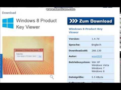 Wo finde ich mein Windows 8 und 8.1 Produkt Key und wie lese ich ihn aus