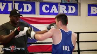 Aaron McKenna the NEXT IRISH star ripping the mitts