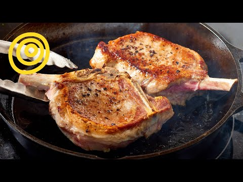 How to Cook Perfect Pork Chops