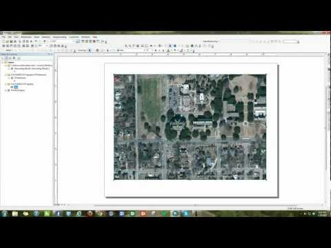 How to change Map Layout from Portrait to Landscape in ArcMap 10.1