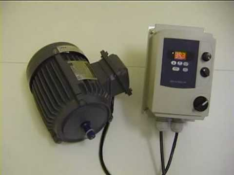 Drives Direct IP-65 Inverter controlling a 3 phase motor