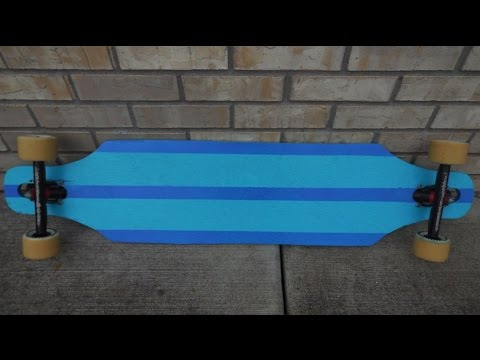 How to build a Drop through longboard (Deck)