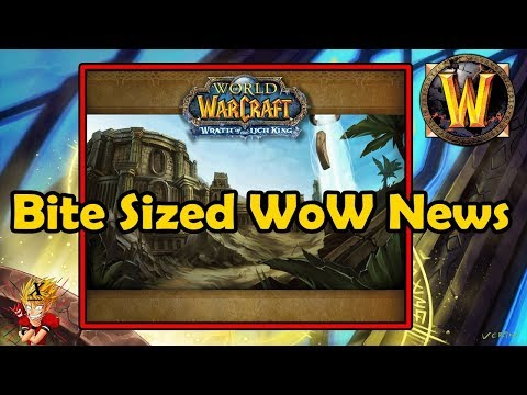 Strand of the Ancients Removed, Childrens Week, BfA QandA - Bite Sized WoW News