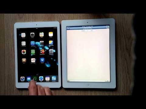 Whatsapp auf iPad Air mit iOS 7.0.4