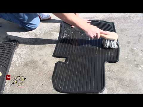 How To Clean Rubber Floor Mats - Green Clean Chemical Guys Detailing BMW E39