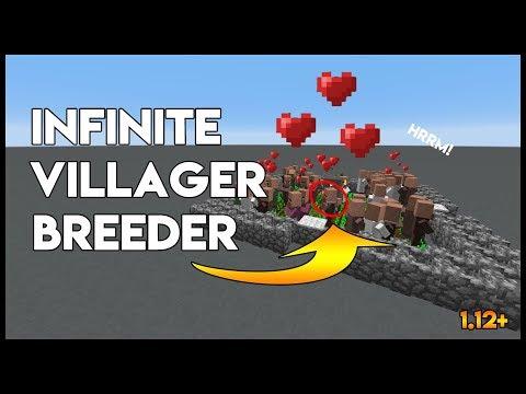 ✔ Minecraft | Infinite Villager Breeder 1.12+