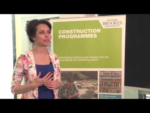 MSc Project Management in the Built Environment at Oxford Brookes University