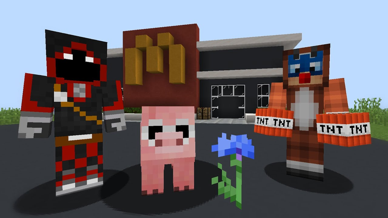George Was CURSED By WITCH And She TURNED Him Into A PIG! DREAM SMP