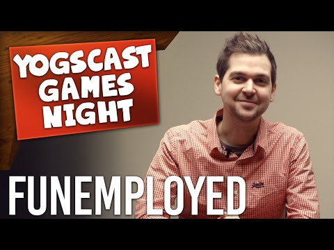 GAMES NIGHT - Funemployed: Space Scissoring (Board Games!)