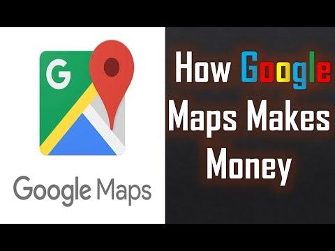 How Google Maps Makes Money   Google Maps business model