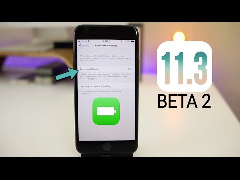 iOS 11.3 Beta 2: NEW Battery Health Feature + More Changes