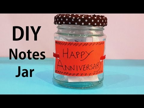 DIY Notes Jar | Last Minute Gift Idea