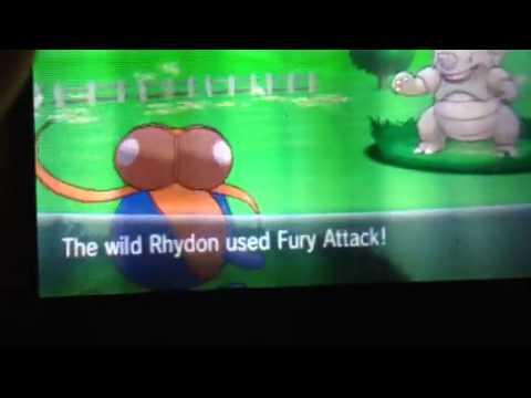 Shiny Rhydon Pokemon X & Y