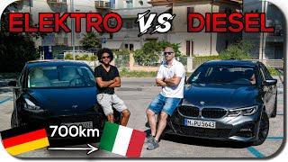 Download Roadtrip Nach Rimini: Tesla Model 3 vs Diesel 3er BMW Video