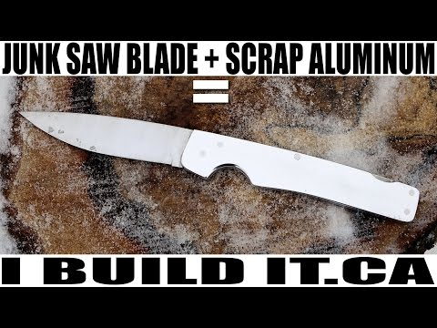 Make This Folding Knife With Basic Tools