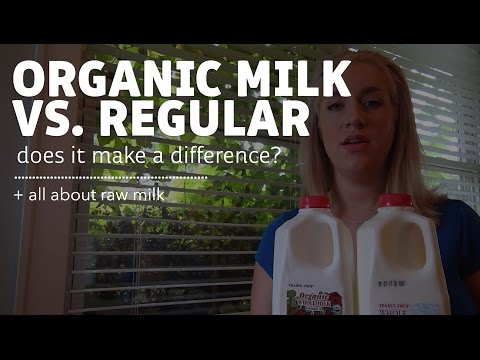 Regular Milk, Organic Milk & Raw Milk (What is the Difference?)