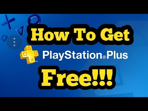 How To Get PlayStation Plus for free 2017.