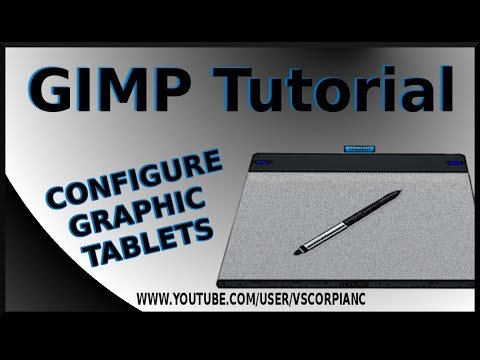 GIMP Tutorial - How to Configure a Wacom Intuos Graphic Tablet Pen by VscorpianC