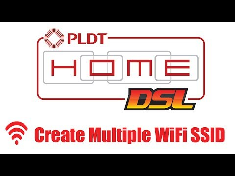 How to Create Multiple WiFi/SSID To Your  PLDT Home DSL Router