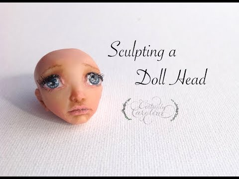 Sculpting a Doll Head, Polymer Clay Sculpting Demonstration
