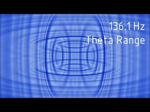 Pure 136.1 Hz Theta Range Binaural Beats [30 min]
