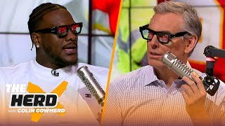 Frank Clark talks Super Bowl LIV, playing with Mahomes, Russell Wilson and more | NFL | THE HERD