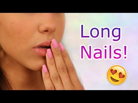 How To Get Long + Healthy Nails Fast!