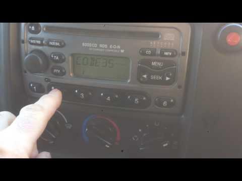 2006 Ford transit radio problems