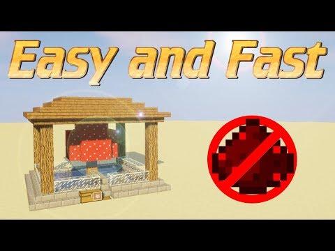 Minecraft: How to make a Mushroom Farm in Minecraft | Super Efficient Mushroom Farm - NO REDSTONE