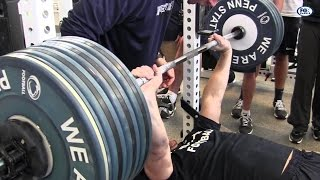 Pen state bench press workout