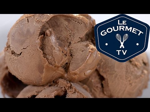 Double Chocolate Ice Cream Recipe || Le Gourmet TV Recipes