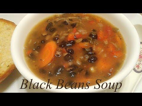 How to Create Black Bean Soup @ Ela's Channel   Black Beans Soup Recipe