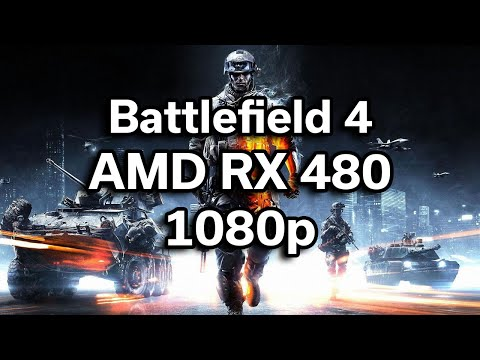 Battlefield 4 - Single Player - i5-6402p - RX 480 - $720 Gaming Computer - Benchmark