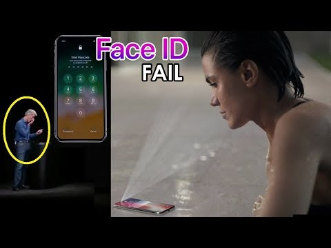 Apple Face ID Fail: New iPhone X Face ID Technology Doesn't Work the First Time During Big Reveal