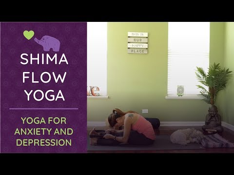 Yoga for Anxiety & Stress  I Yoga for Depression