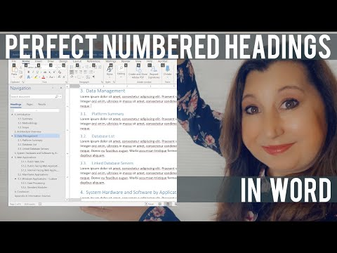 Hierarchical Outline numbering for Microsoft Word Documents