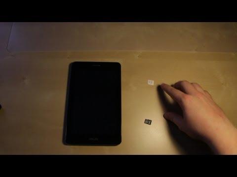 Asus Fonepad Micro Sim Card & Micro SD Card Insert