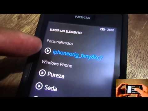 Agregando Tonos al Nokia Lumia
