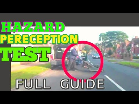 HOW TO PASS HAZARD PERECEPTION TEST |  THEORY TEST 2018 PRACTICE