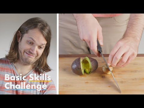 50 People Try to Slice an Avocado | Epicurious